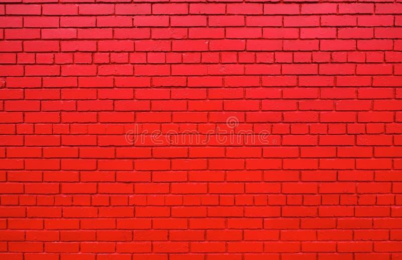 mer längre röd vägg för tillbaka tegelsten royaltyfri foto