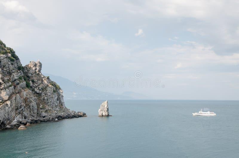 Mer La mer est toujours fascinante image stock