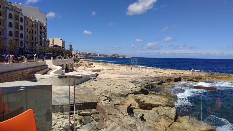 Mer Malte images libres de droits
