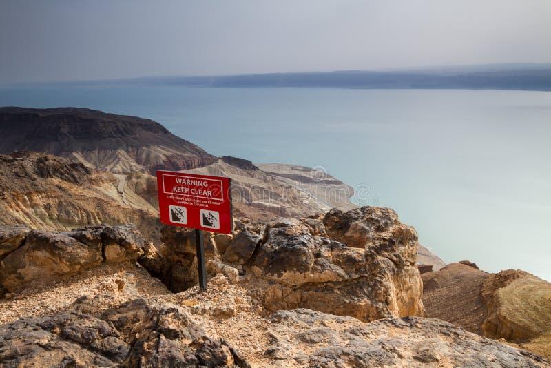 mer morte de la Jordanie image stock