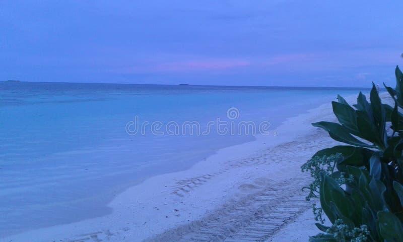 Mer naturelle au Sri Lanka images stock