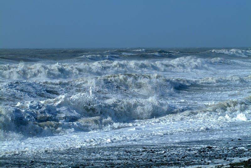 Mer orageuse 31 photo stock