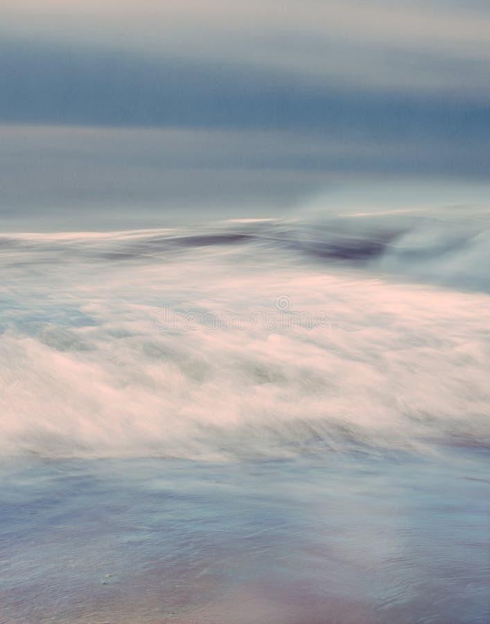 Mer orageuse photographie stock