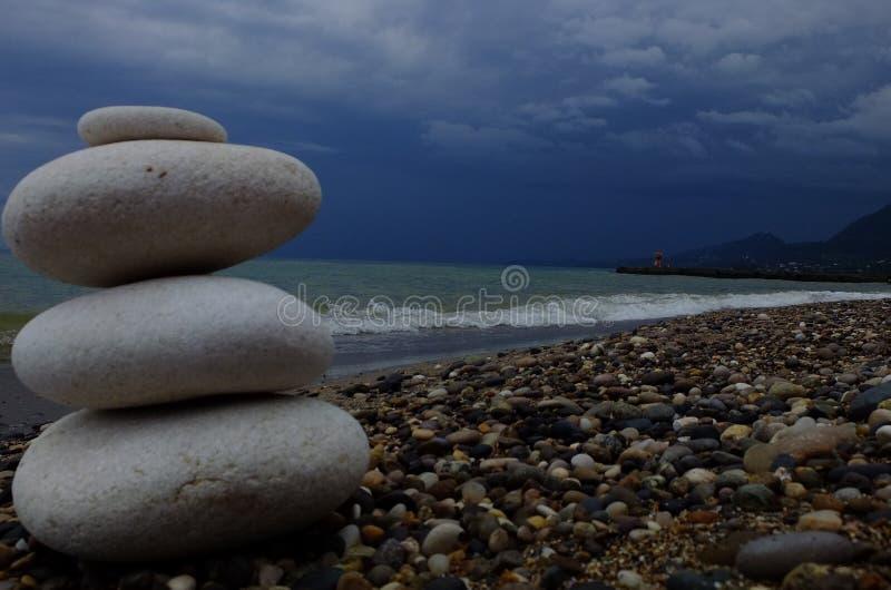 Mer, plage photo libre de droits