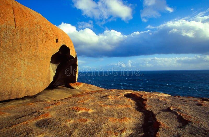 mer remarquable de roches image libre de droits