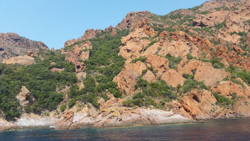 Mer rocks royalty free stock image