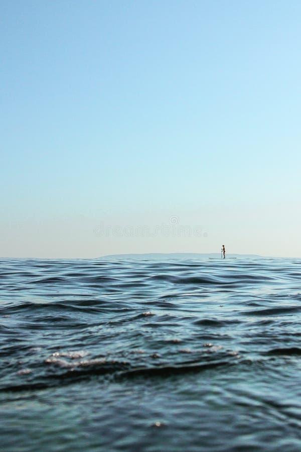 Mer sans fin photo libre de droits