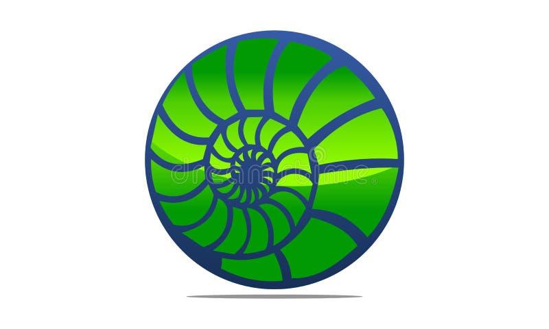 Mer Shell Modern illustration libre de droits