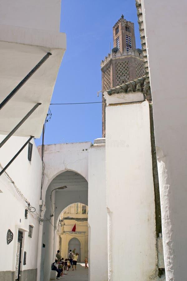 mer tangier morocco fotografering för bildbyråer