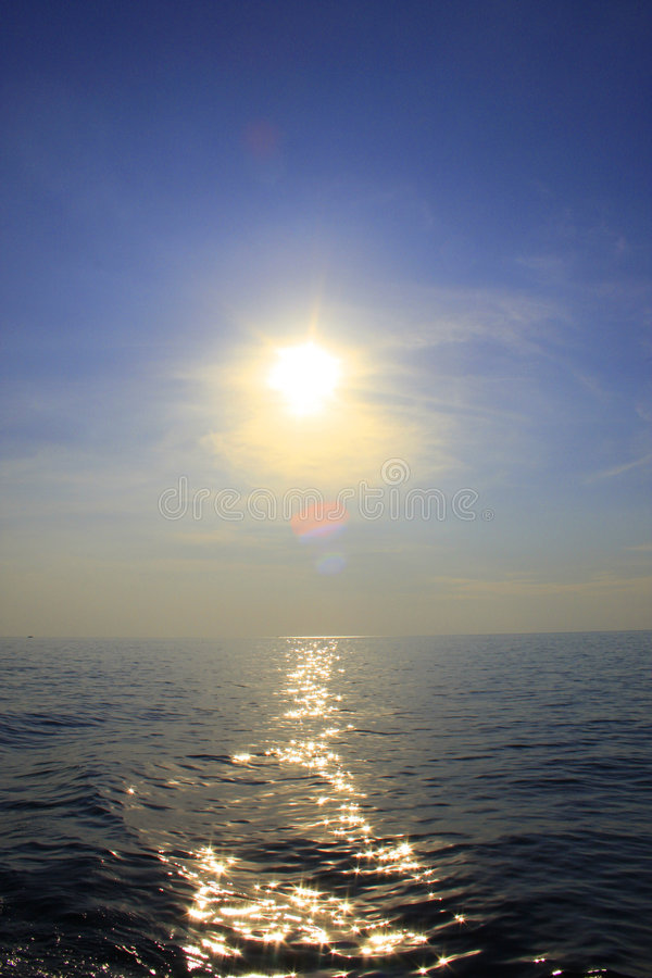 mer thaïe photo libre de droits