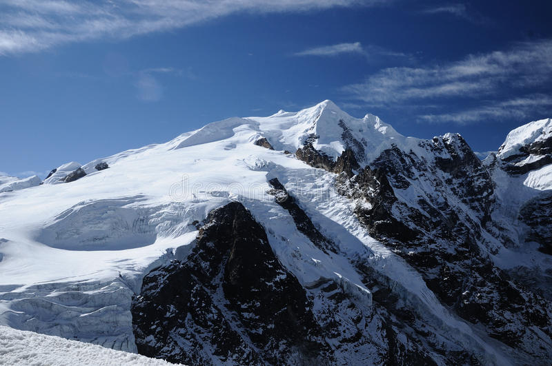 Download Mera Peak Seen From Mera La Stock Image - Image of climbing, 400m: 59251159