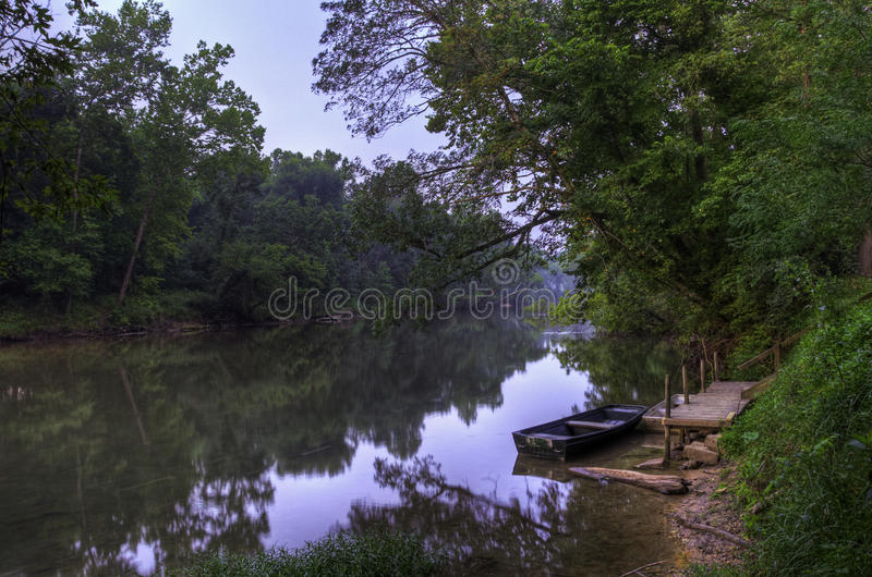 meramec ανατολή ποταμών στοκ εικόνες