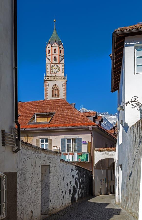 Meran, Tirolo del sud fotografia stock libera da diritti