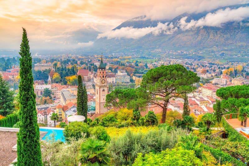 Merano, Italia fotografia stock libera da diritti