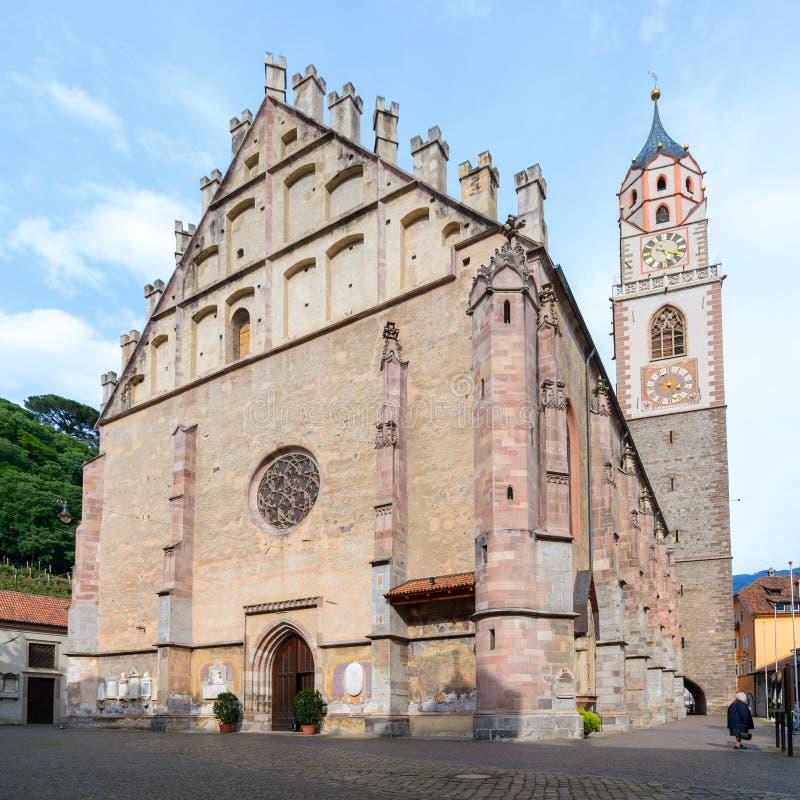 Download Merano Meran - собор стоковое изображение. изображение насчитывающей туризм - 40586839