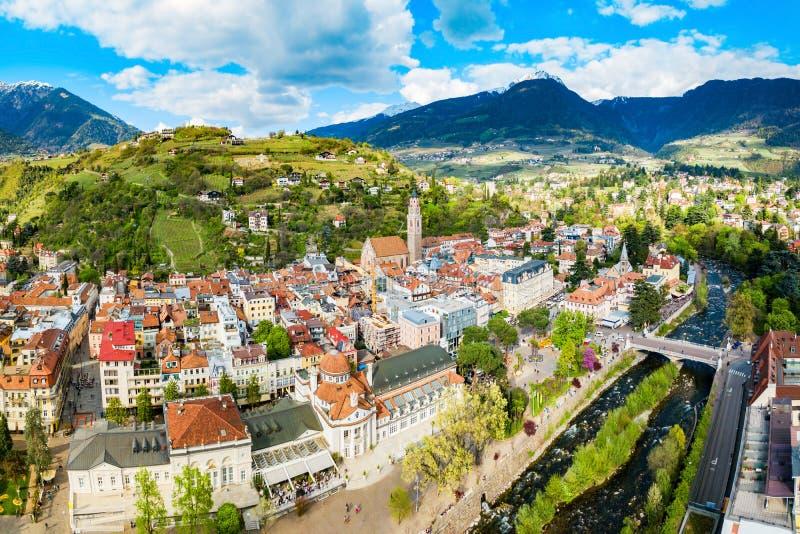 Merano o Meran, Tirolo del sud fotografia stock libera da diritti
