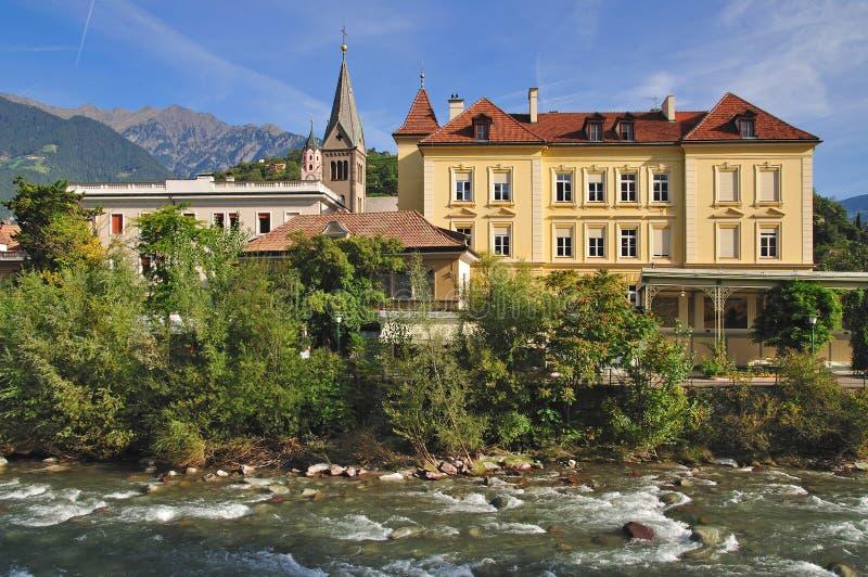 Merano, Tirolo del sud, Italia fotografia stock