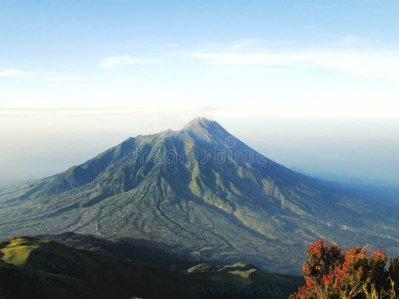 Merapi mount, Indonesia. 2012 stock images