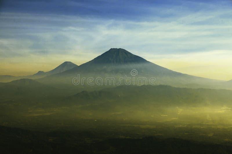 Merapi wulkan 2 obrazy stock