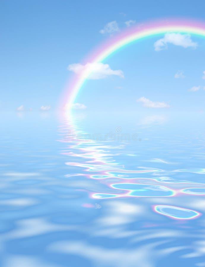 Meraviglia del Rainbow fotografie stock libere da diritti