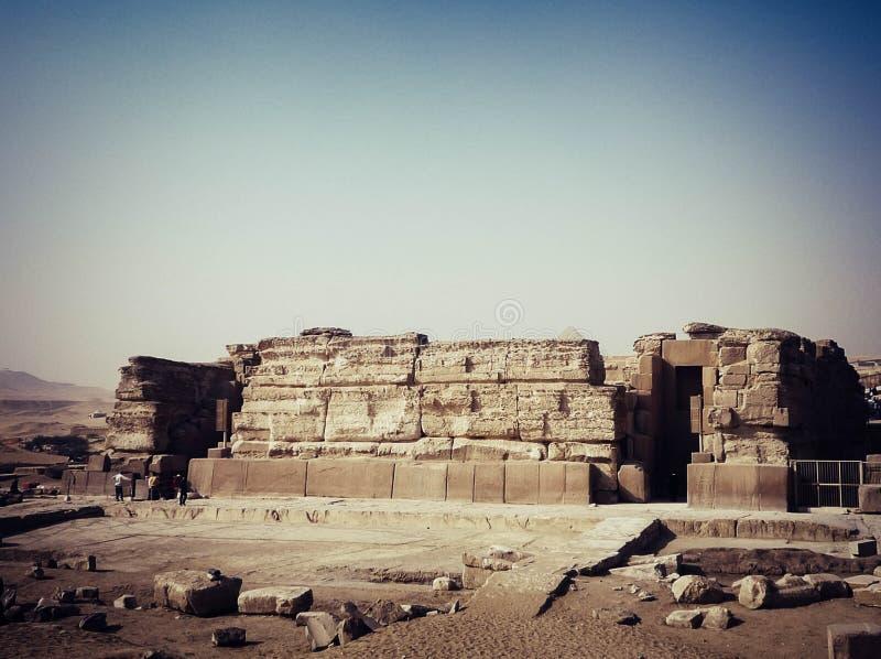 Meraviglie del mondo, Egitto fotografia stock libera da diritti