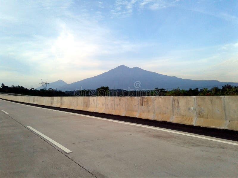 Merbabu山 库存照片