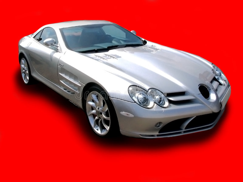 Download Merc SLR - Crimson stock photo. Image of gear, front, grille - 278968