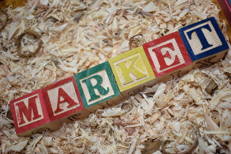 mercado imagem de stock