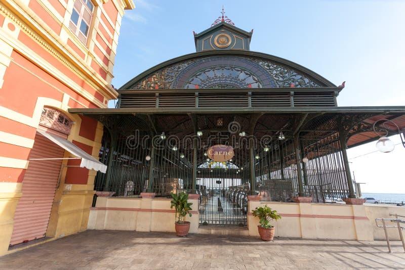 Mercado Adolpho Lisboa, Manaus, el Brasil imagen de archivo libre de regalías
