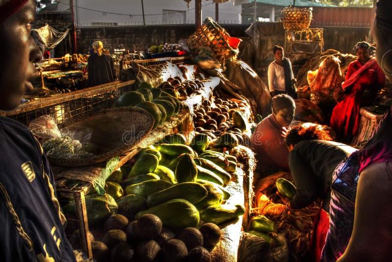 Mercado africano imagens de stock