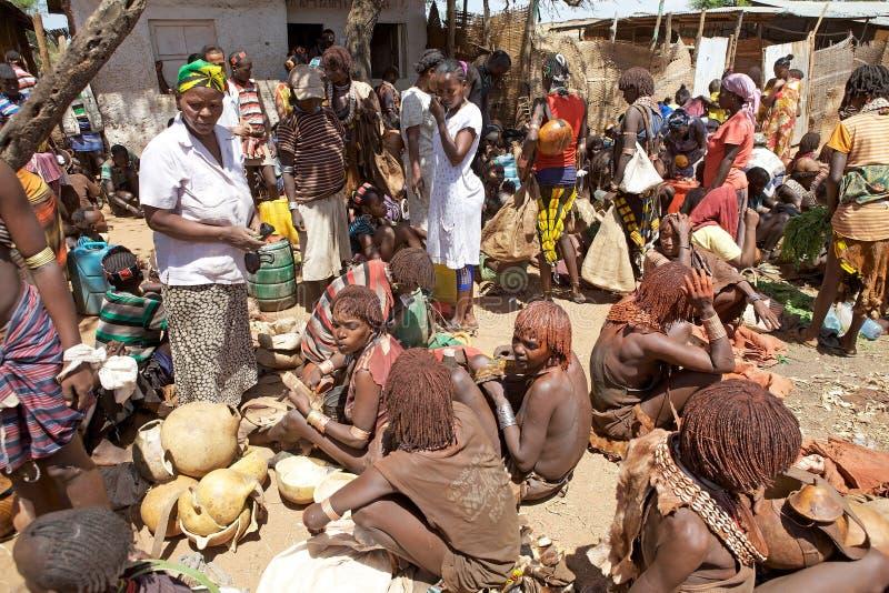 Mercado africano imagen de archivo
