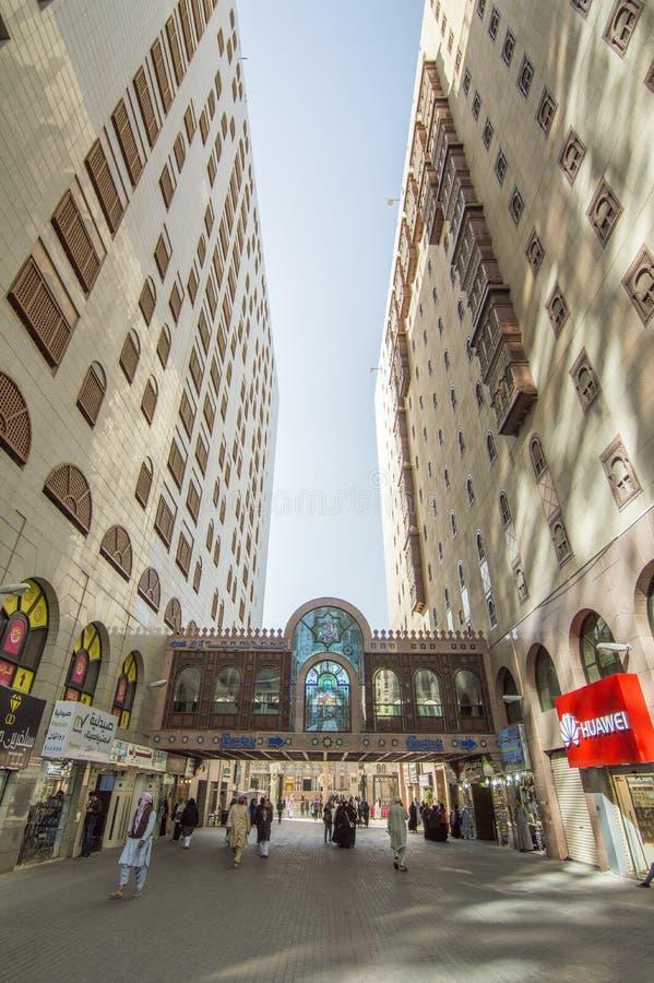 Mercado, Al Madinah Al Monawarah, Arabia Saudita. 29 de diciembre de 2018 fotos de archivo