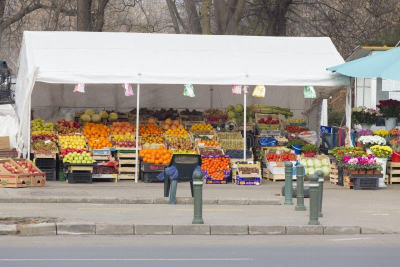 Mercado ambulante imagens de stock royalty free
