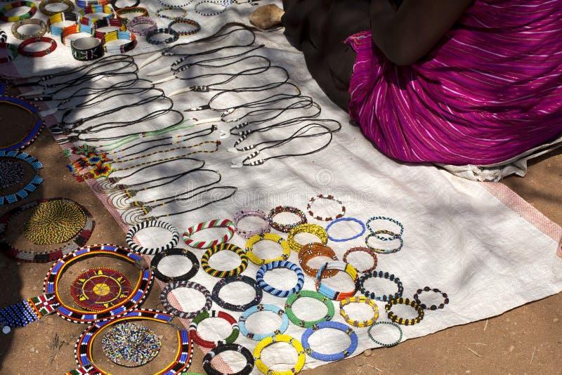Mercado ao ar livre em Kenya fotos de stock royalty free