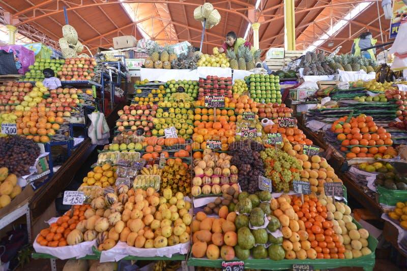 Mercado, Arequipa, Peru fotografia de stock royalty free