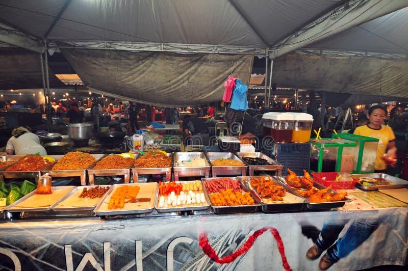 Mercado barato em Brunei. fotografia de stock royalty free