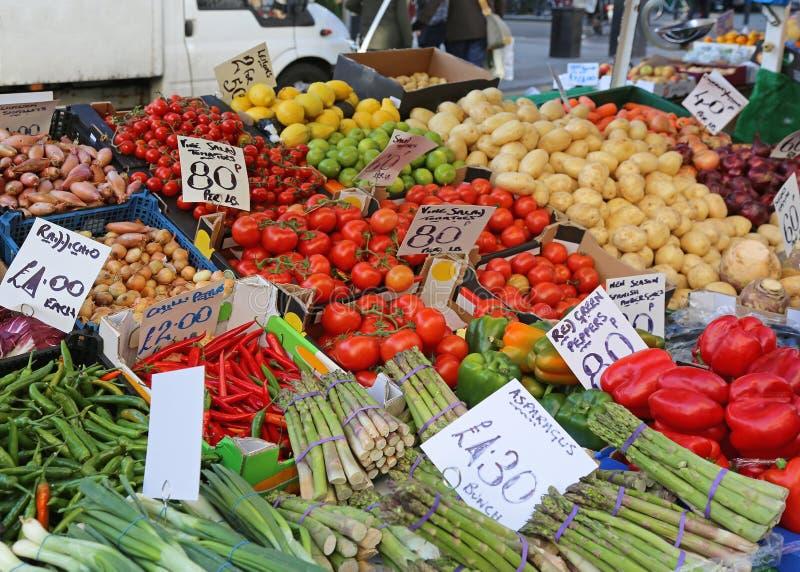 Mercado callejero foto de archivo libre de regalías