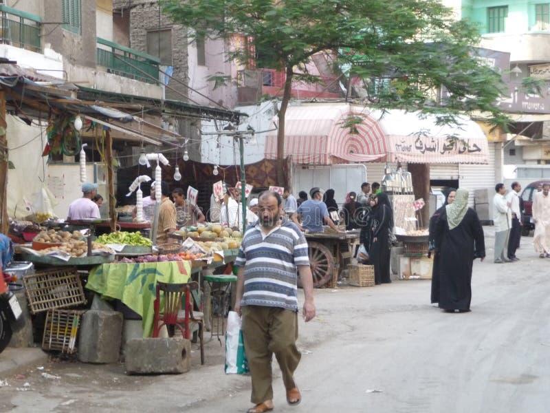 Mercado callejero imagenes de archivo