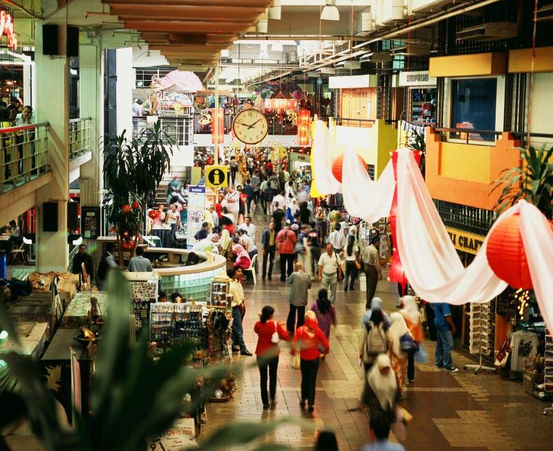 Mercado central imagens de stock