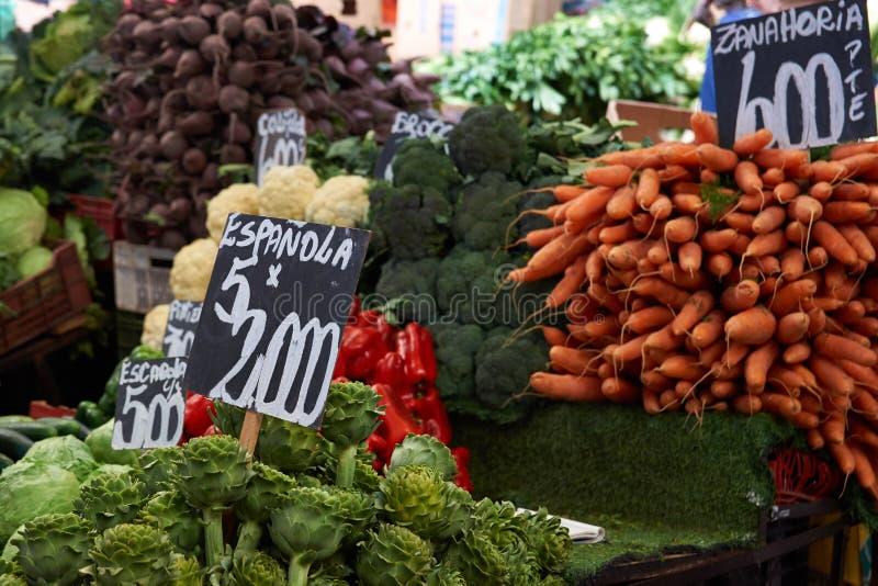 Mercado central royaltyfria bilder