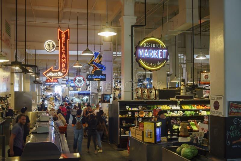 Mercado central magnífico fotos de archivo