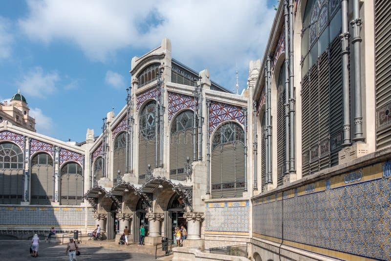Mercado centrala w Walencja, Hiszpania zdjęcie stock