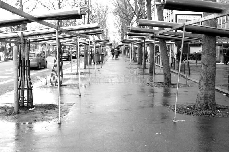 Mercado cerrado fotos de archivo