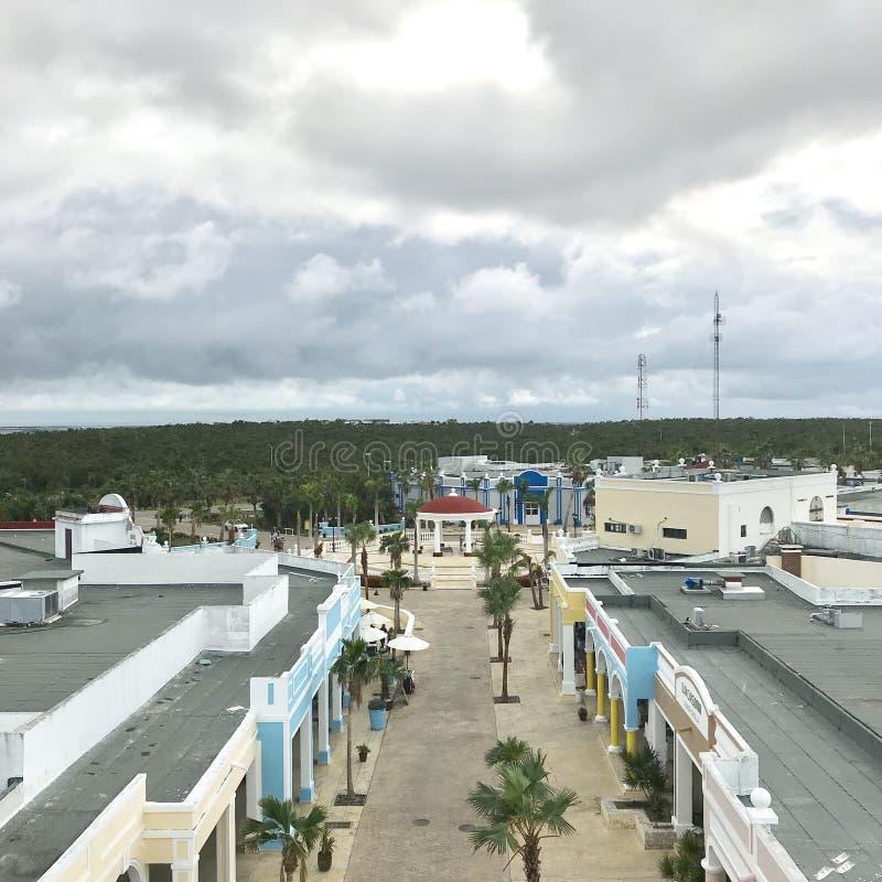 Mercado cubano imagen de archivo