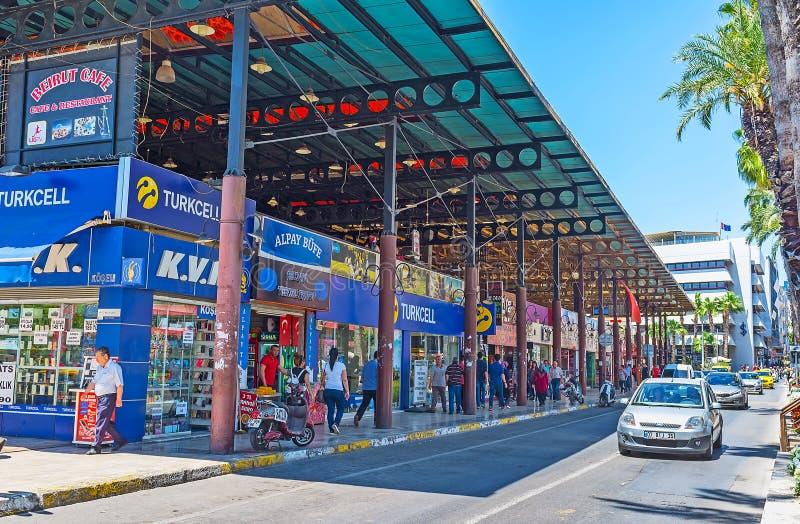 Download Mercado Cubierto En El Bulevar De Ataturk, Antalya Foto de archivo editorial - Imagen de ataturk, bulevar: 100530428