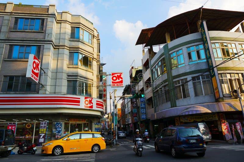 Mercado da aprovação de Taiwan foto de stock royalty free