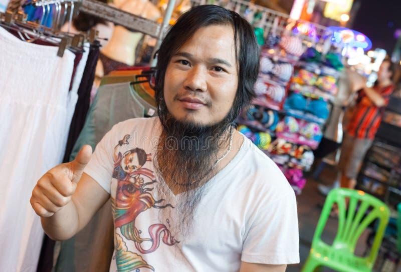 Mercado da estrada de Khao San imagem de stock royalty free
