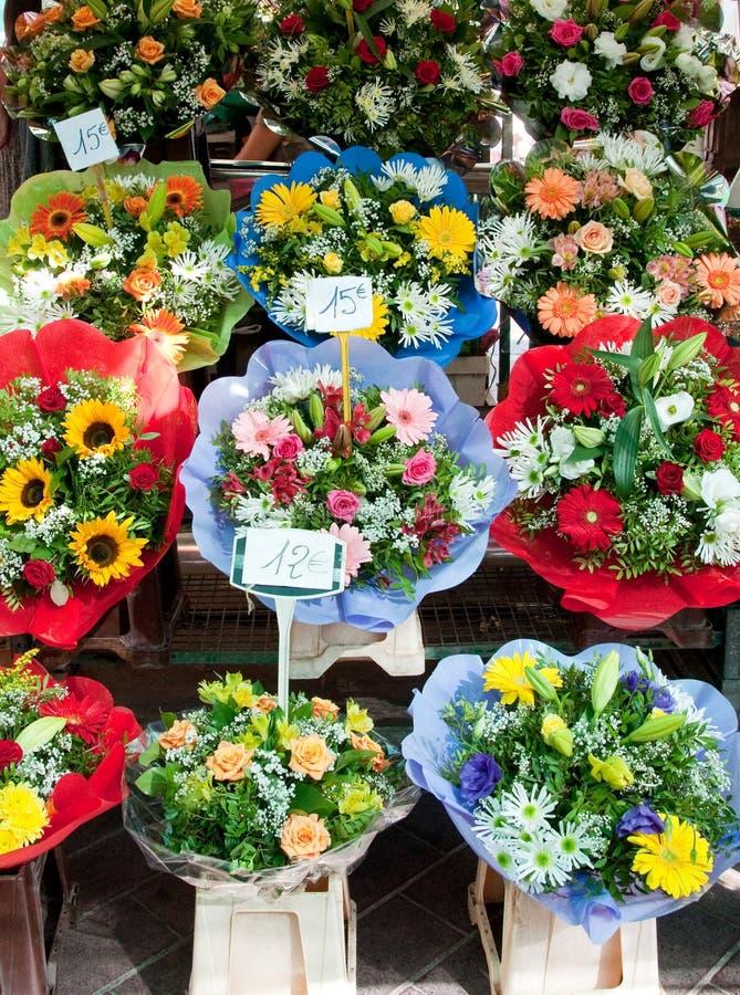 Mercado da flor em agradável fotos de stock