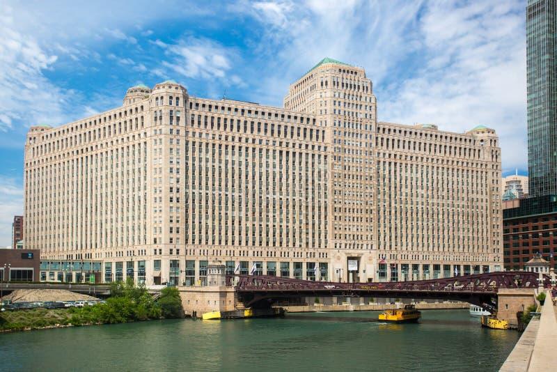 Mercado da mercadoria em Chicago foto de stock