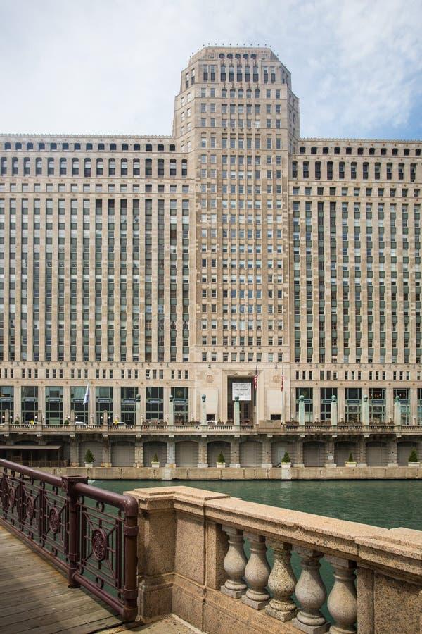 Mercado da mercadoria em Chicago foto de stock royalty free